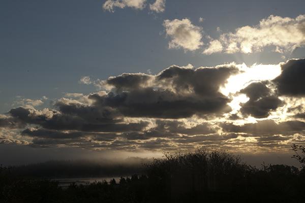 Chezzetcook morning sky