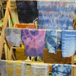 Some samples from a dye class I took at NSCCD