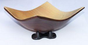 Winged bowl by Bob Hamilton