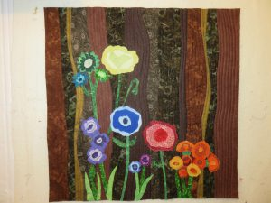 My finished Colour Garden. The 6 browns are clear in the background.